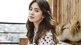 Song Hye kyo became the muse of the top Korean beauty brand, Sulwhasoo.