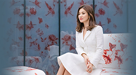 "Song Hye-kyo visits the Sulwha Cultural Exhibition - ""Micro-Sense: House of Pattern"" – where be able to rediscover the beauty of traditional patterns"