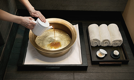 Red ginseng foot bath