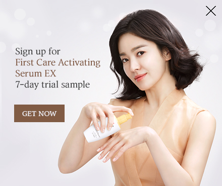 First Care Activating Serum EX Popup