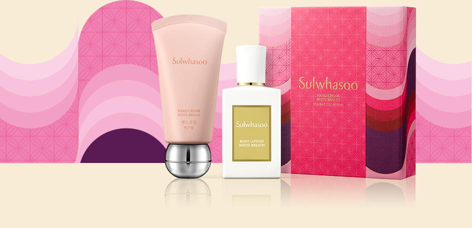 Sulwhasoo Hand Cream White Breath Seasonal special product image