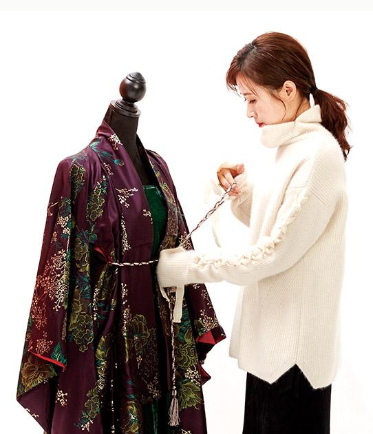 Costume director Cho Sang Kyung